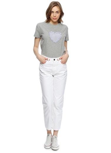 Black Pepper Jean Pantolon Beyaz
